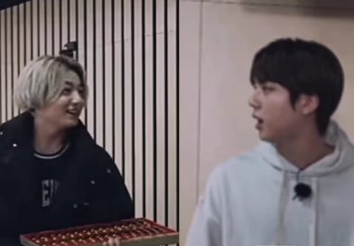 Jinkook Moments Jk Gave His Hyung Red Ginseng